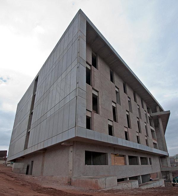 Pre-cast concrete wall panels